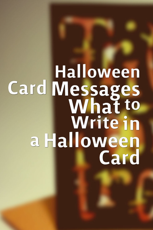 Halloween Wishes Best Card Messages – What to Write in a Best Wishes Card