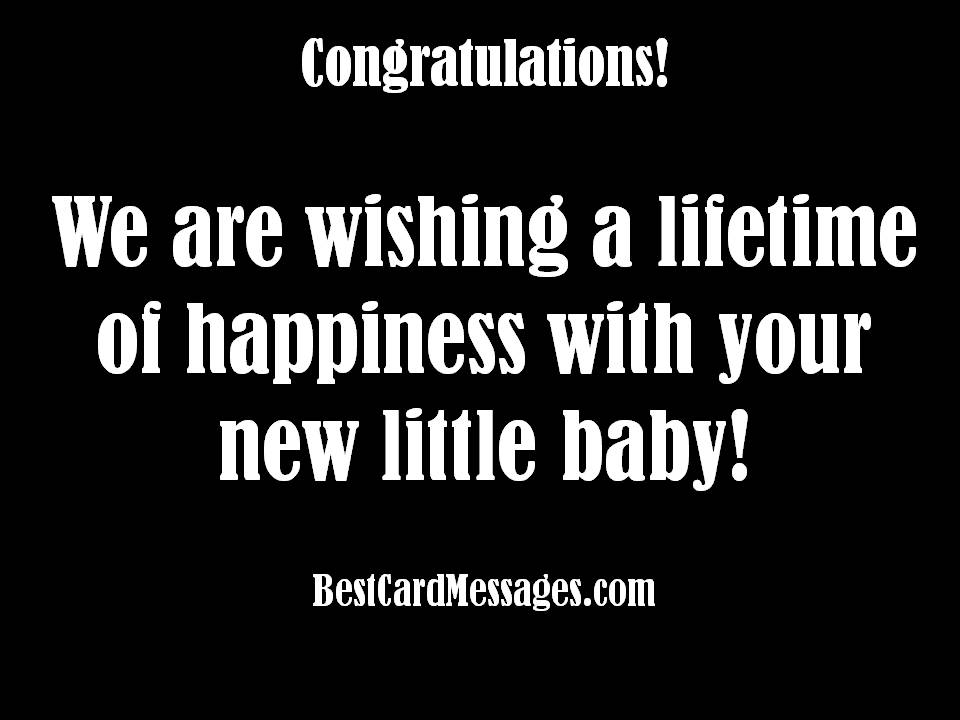 Baby Card Messages - Best Card Messages : Baby Shower Card Message From Grandparents For Kids