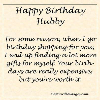 Husband birthday card messages funny things to write bookmarktalkfo Choice Image