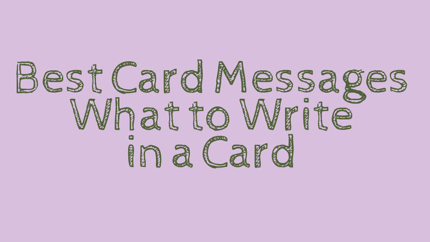 Greeting card messages help for writing in a greeting card or wishes for special occasions bookmarktalkfo Gallery